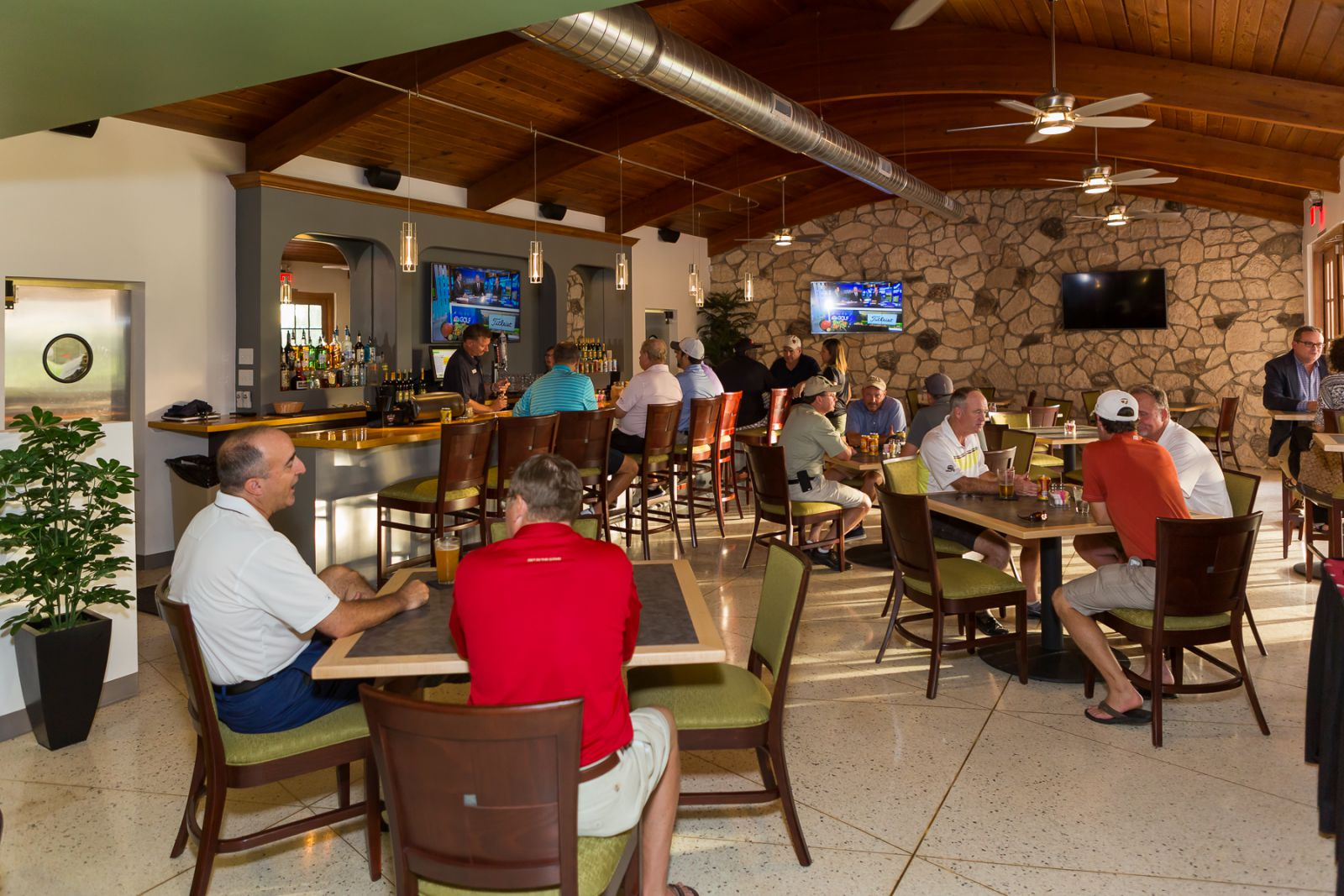 Swing by the Grill60 to pick up a drink or meal berfore, during or after your round at San Marcos Golf Resort in Chandler, Arizona.